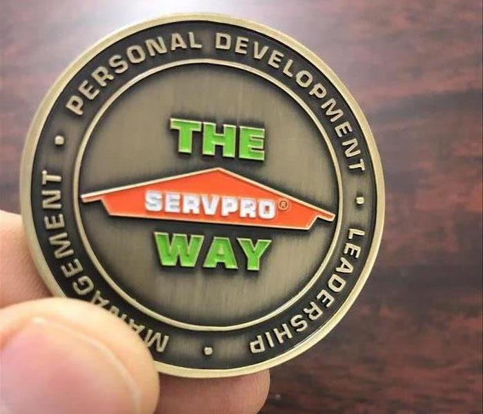 Servpro Leadership Medallion